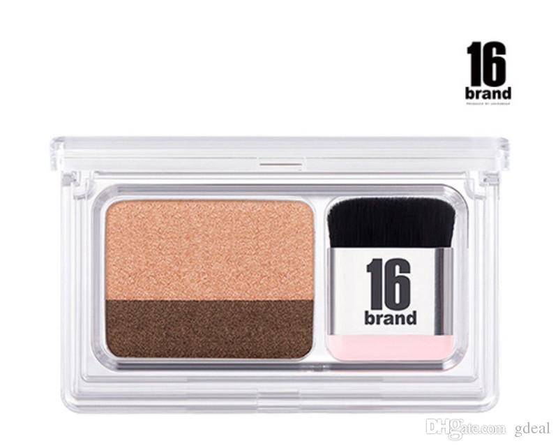 16 BRAND Eye Magazine 2 Colours Eyeshadow