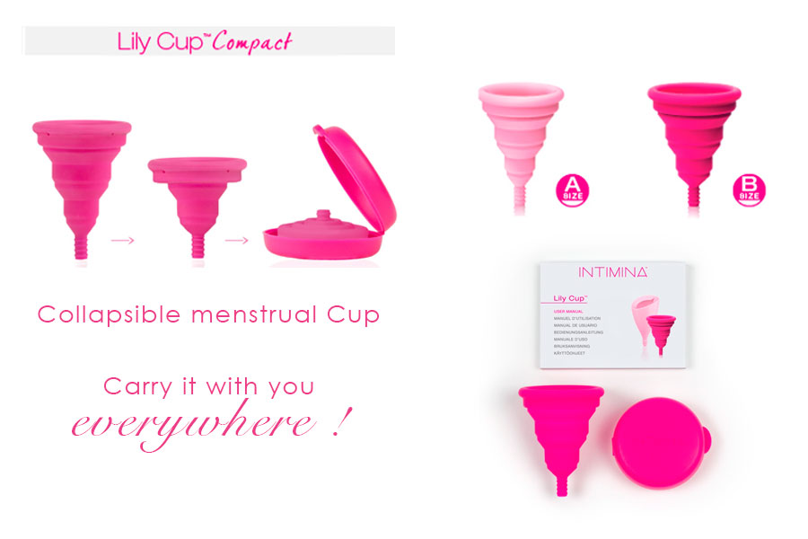 【Intimina Lily Cup Compact】Collapsible Menstrual Cup 折叠型月经杯 (Pre Order)