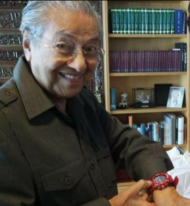 Tun-M-wearing-G-Shock