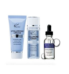 AHC Hydra B5 Soother Gift Set (Toner 30ml + Soother 30ml + Cream 15ml)