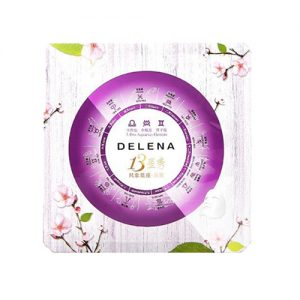 DELENA 13 Constellation Seven Day Facial Mask Nature Flowers Exact Essence Beauty Mask 5pcs