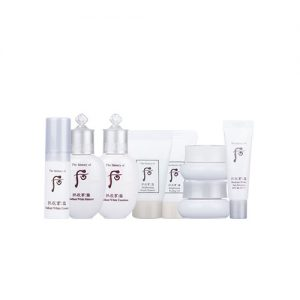 THE HISTORY OF WHOO Radiant White Royal Whitening Special Gift 8 Item Kit